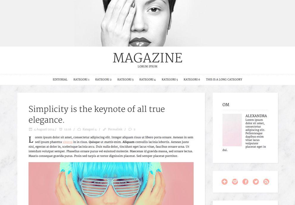 Magazine-browser
